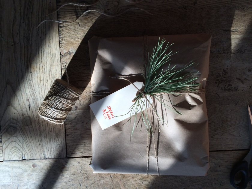 paper gift packaging